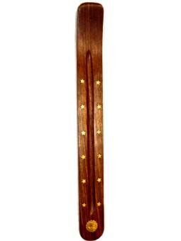 Support en bois pour bâtonnets d'encens