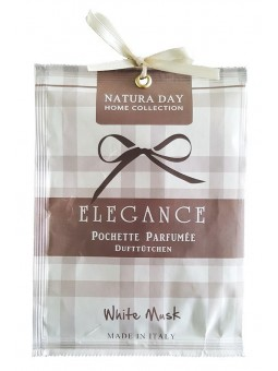 White Musk large pouch