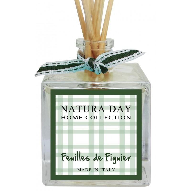 Cube Feuilles de Figuier bouquet diffuseur 100 ml