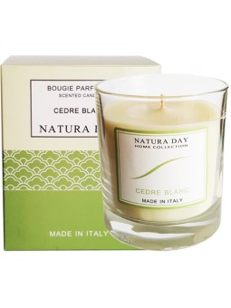 White Cedar candle sublime