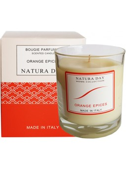 Orange Spices candle sublime