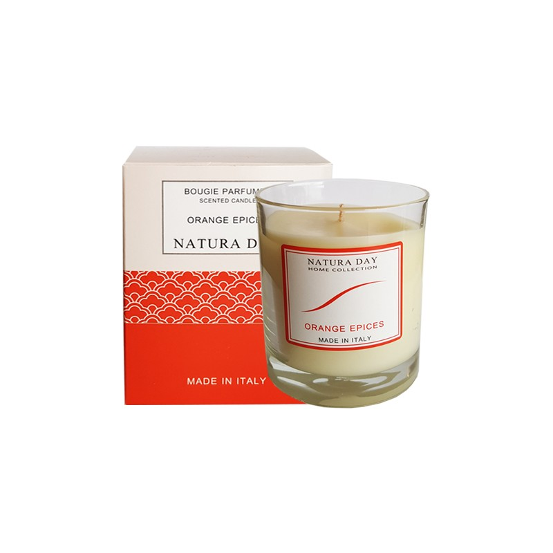 Orange Spices candle sublime
