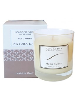 Musk Amber candle sublime